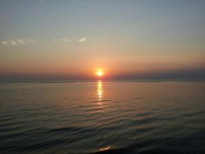 Sunset at Villas Fishing Club
