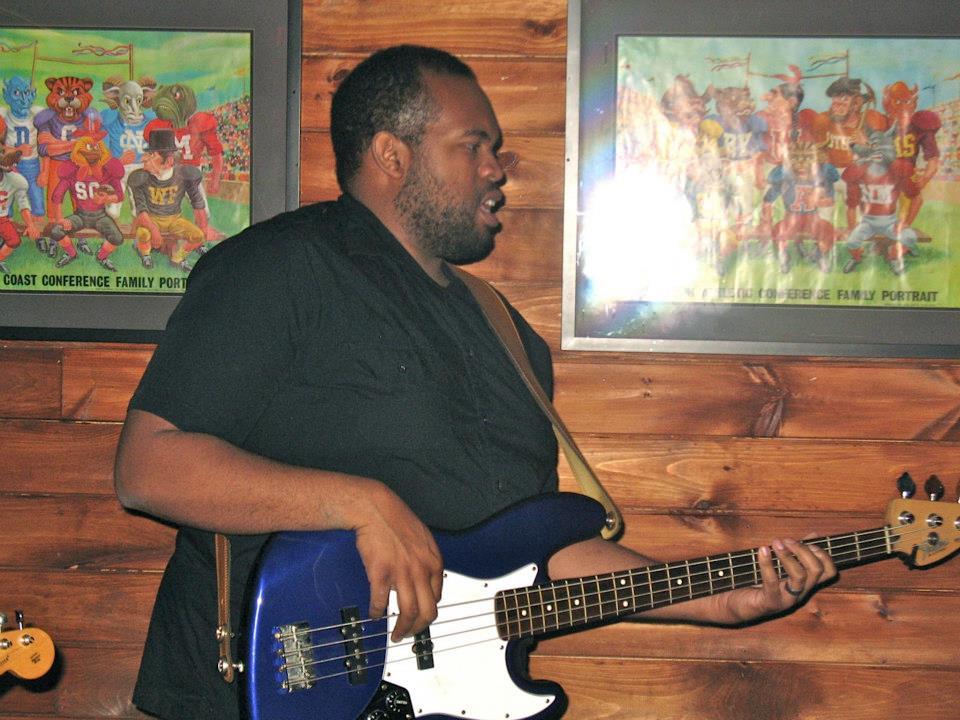 Lucien Dowdell laying it down